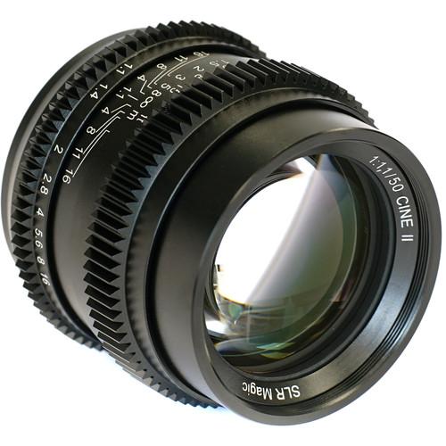 SLR Magic Cine II 50mm f/1.1 Lens (Sony E-Mount)
