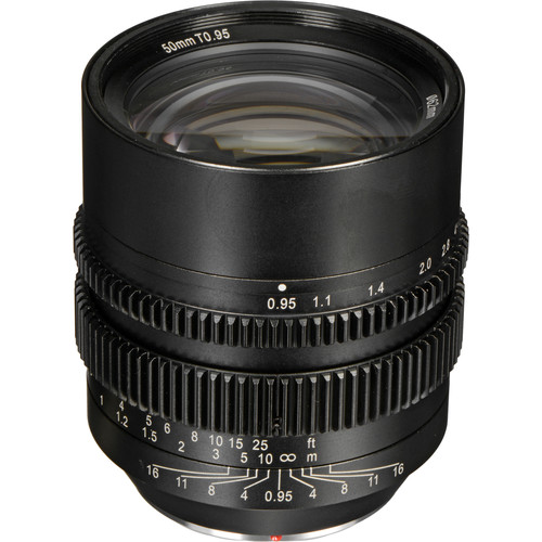 SLR Magic HyperPrime 50mm T0.95 Lens with MFT Mount