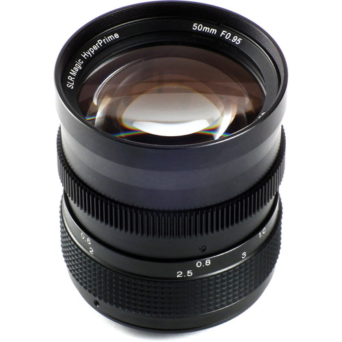 SLR Magic 50mm f/0.95 Hyperprime Lens for Fujifilm X