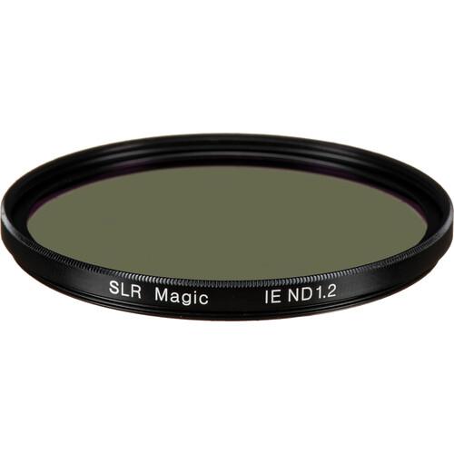 SLR Magic 62mm Solid Neutral Density 1.2 Image Enhancer Filter (4-Stop)