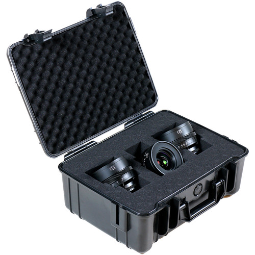 SLR Magic APO HyperPrime CINE 25, 50, 85mm T2.1 Lens Set (PL Mountwith EF Mount Adapter)