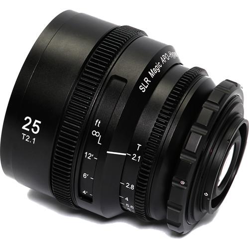 SLR Magic APO HyperPrime CINE 25mm T2.1 Lens (PL Mountwith EF-Mount Adapter)