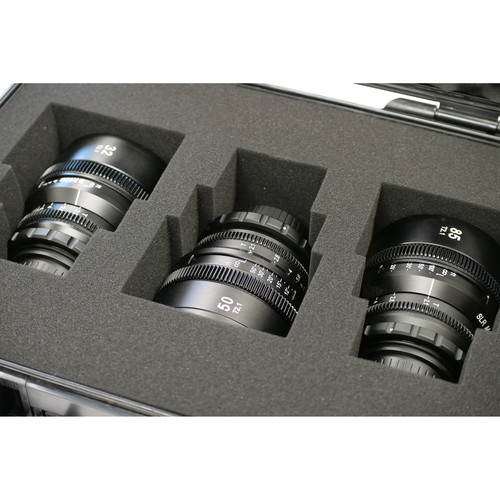 SLR Magic APO HyperPrime Cine T2.1 EF-Mount 3-Lens Set (32/50/85mm)