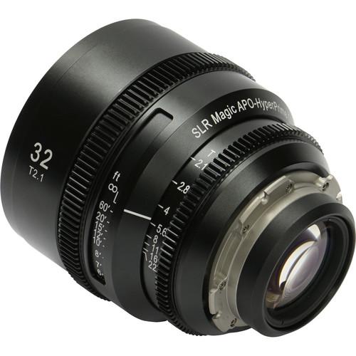 SLR Magic APO HyperPrime CINE 32mm T2.1 Lens (PL Mount )