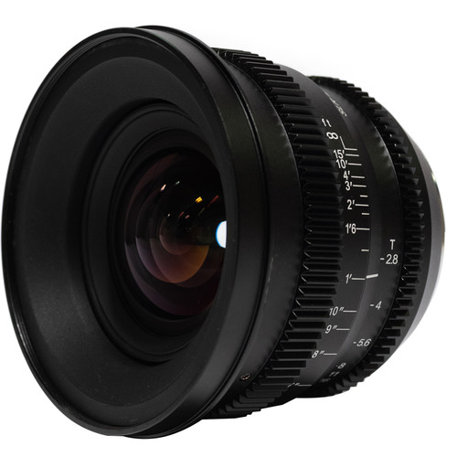 SLR Magic MicroPrime Cine 12mm T2.8 Lens (Fuji X Mount)