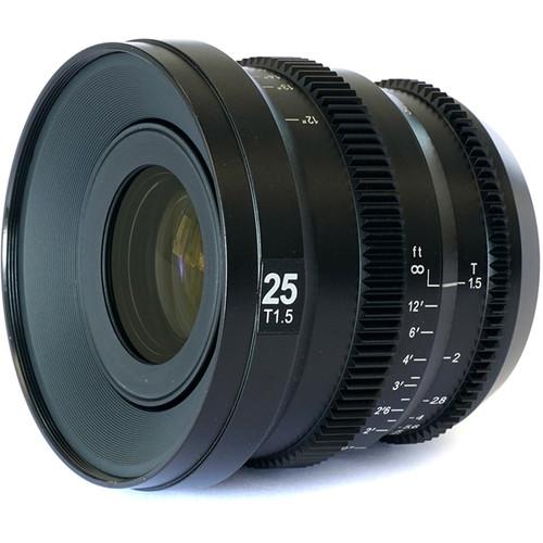 SLR Magic MicroPrime Cine 25mm T1.5 Lens (MFT Mount)