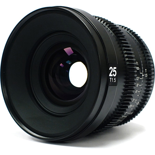 SLR Magic MicroPrime Cine 25mm T1.5 Lens (Fuji X Mount)