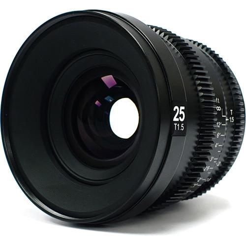 SLR Magic MicroPrime Cine 25mm T1.5 Lens (Fuji X Mount)