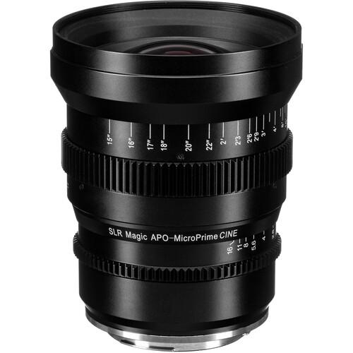SLR Magic APO MicroPrime Cine 32mm T2.1 Lens (Canon EF)