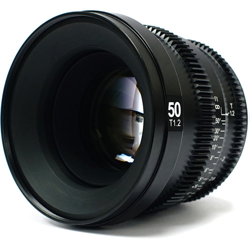 SLR Magic MicroPrime Cine 50mm T1.2 Lens (Fuji X Mount)
