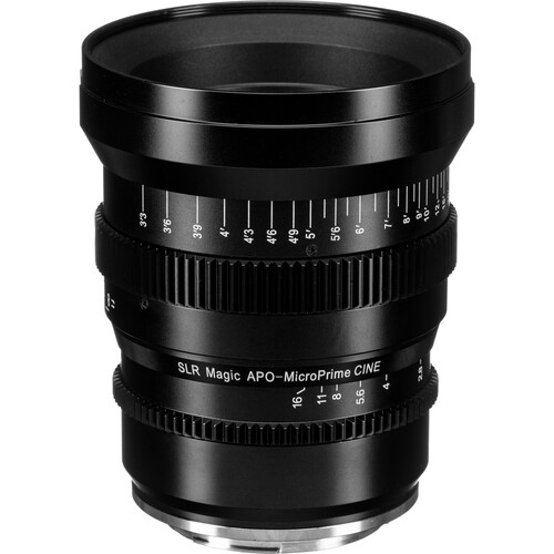 SLR Magic APO MicroPrime Cine 85mm T2.1 Lens (Canon EF)