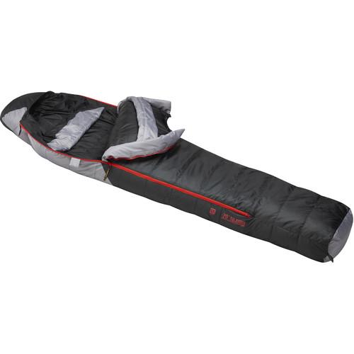 Slumberjack Sojourn -20° Sleeping Bag (Black/Gray, Medium)