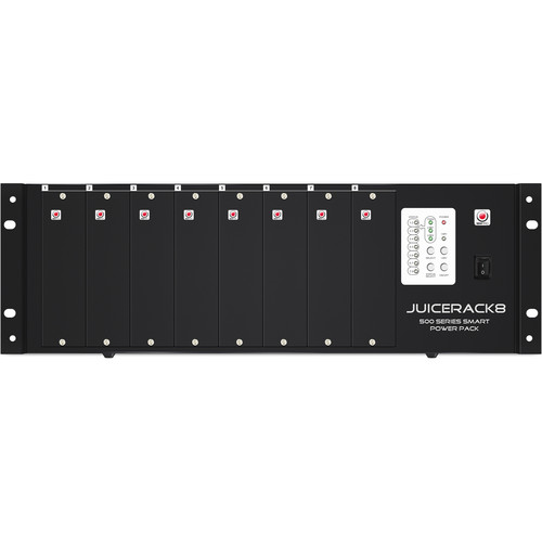 SM Pro Audio 500 Series 8-Slot Power Rack