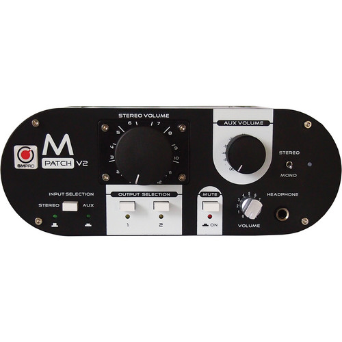 SM Pro Audio M-Patch V2 Passive Monitor Controller and Speaker Switcher