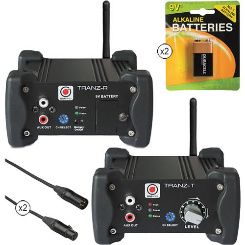 SM Pro Audio Stereo-Channel Wireless Audio Kit