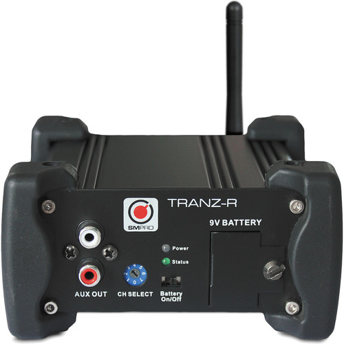 SM Pro Audio TRANZ-R Wireless Stereo DI Receiver