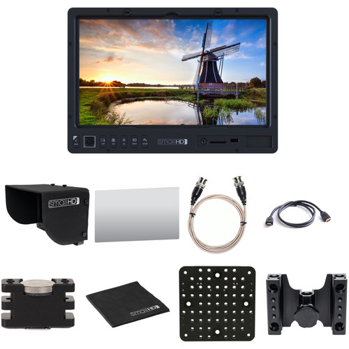 "SmallHD 1303 HDR 13"" Production Monitor Kit with Hood, Screen Protector, Mounting Accessories & Cables (Promo)"
