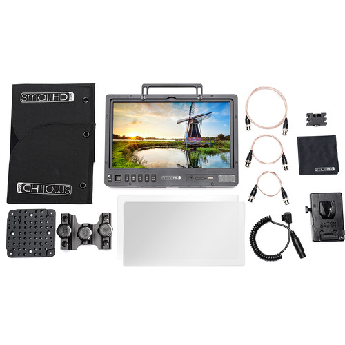 "SmallHD 1303 HDR 13"" Production Monitor V-Mount Kit"