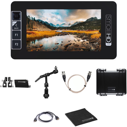 """SmallHD 503 UltraBright 5"""" Monitor Kit with Mount, Cage & Case (Promo)"""