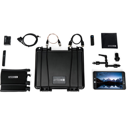 SmallHD 702 Black Monitor with Accessory Kit #1