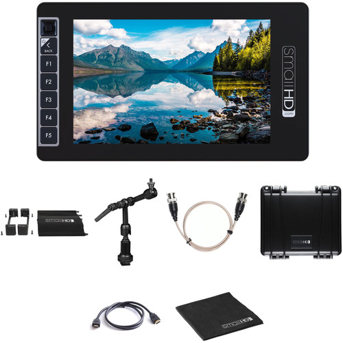 "SmallHD SmallHD 703 UltraBright 7"" Monitor Kit with Mount, Cage & Case (Promo)"