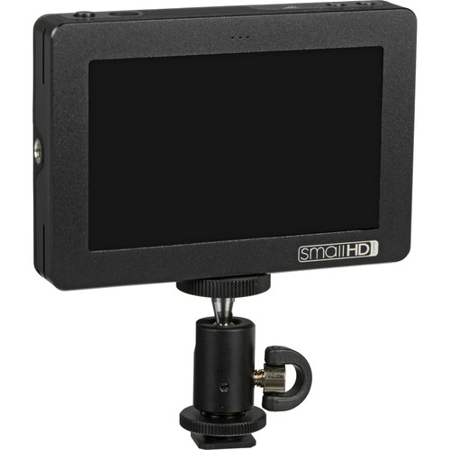 "SmallHD DP4 4.3"" On-Camera LCD Field Monitor with Canon 5D/7D Battery Bracket"