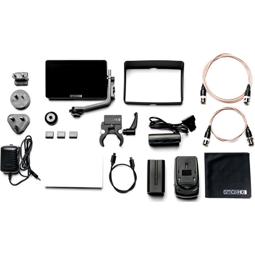 SmallHD FOCUS OLED SDI Monitor Gimbal Kit with International Charger Power Supply