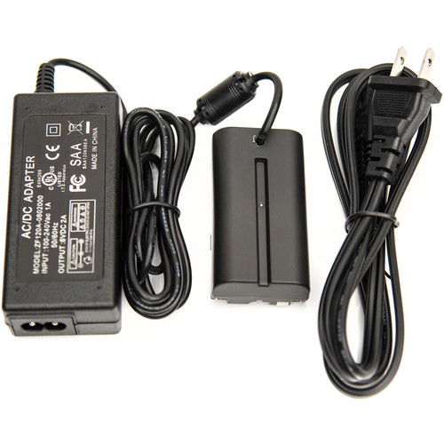 SmallHD AC Adapter with L-Series Faux Battery (US Plug)