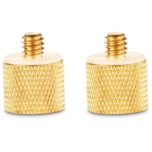 """SmallRig Female 3/8""""-16 to Male 1/4""""-20 Thread Adapter (2-Pack)"""