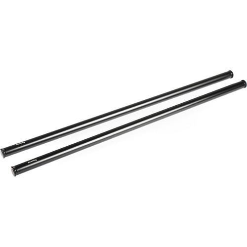 "SmallRig 15mm Black Aluminum Rod Pair (18"" Each)"