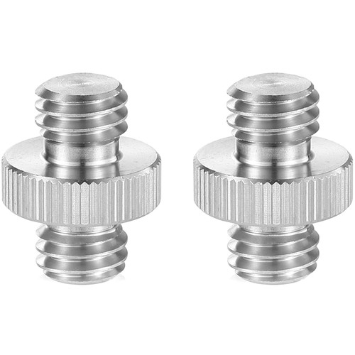 """SmallRig 3/8""""-16 Male to 3/8""""-16 Male Thread Adapters (2-Pack)"""