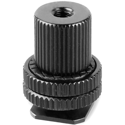 "SmallRig 1/4""-20 Cold Shoe Adapter with 1/4""-20 Barrel Nut"