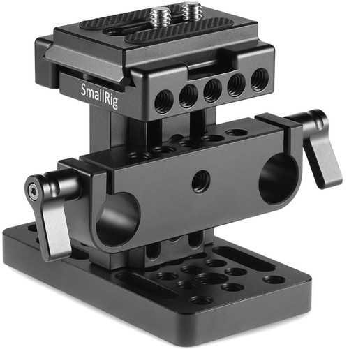 SmallRig 15mm LWS Rod Support System with Dovetail Plate
