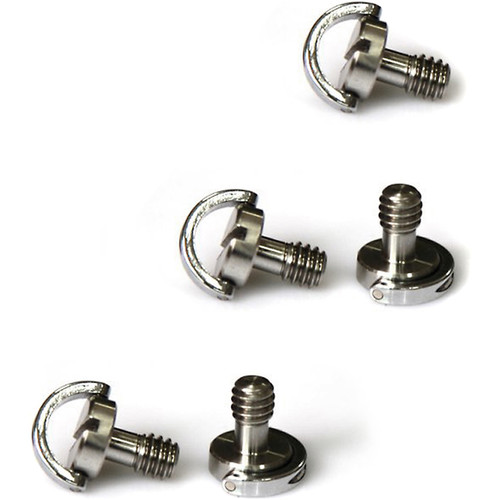 "SmallRig 1/4""-20 Thumbscrew with D-Ring (5-Pack)"
