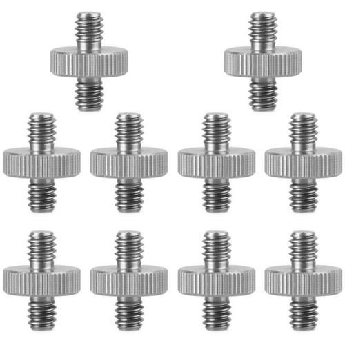 "SmallRig 1/4""-20 to 1/4""-20 Double-End Stud (10-Pack)"
