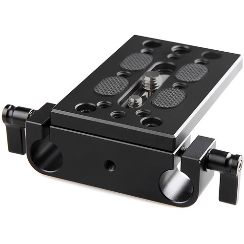 SmallRig Tripod Mounting Plate with 15mm Rod Clamp