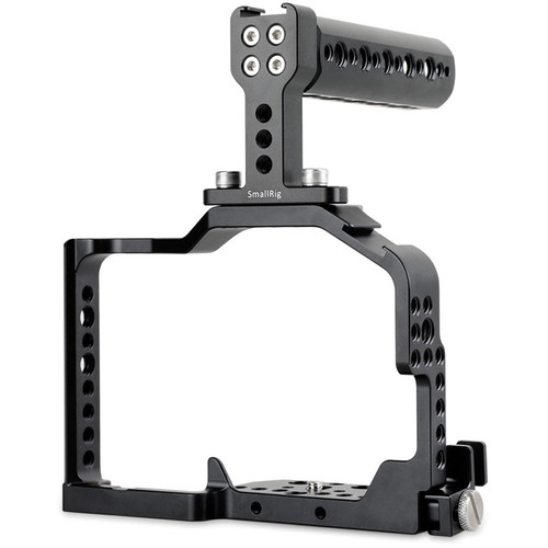 SmallRig 1980 Cage for Panasonic GH4/GH3 with Top Handle & HDMI Cable Clamp