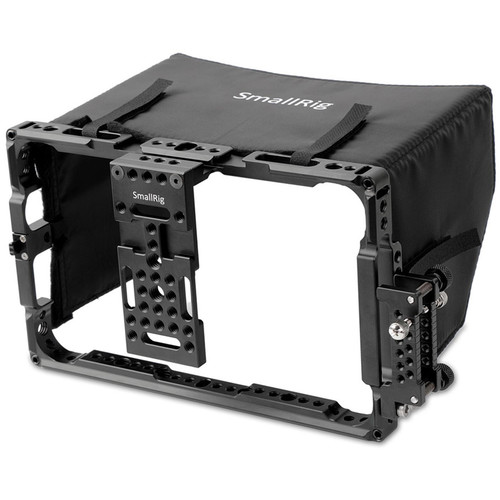 "SmallRig Atomos 7"" Monitor Cage with Sunshade"