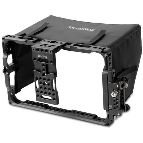 """SmallRig Atomos 7"""" Monitor Cage with Sunshade"""