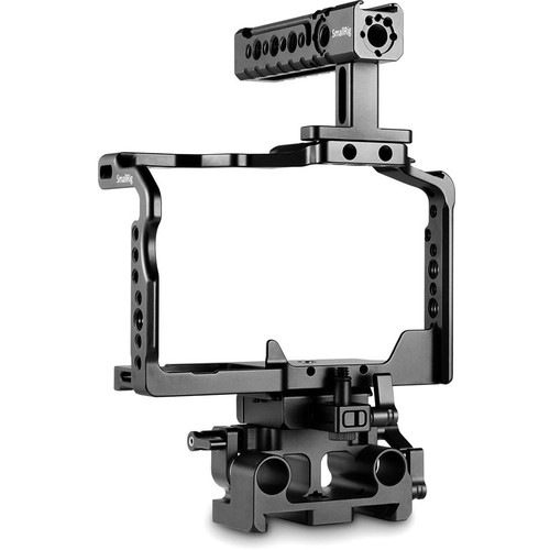 SmallRig 2051 Cage Kit for Panasonic Lumix GH5/GH5S with Handle & Baseplate