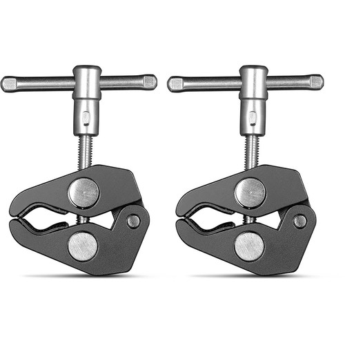 """SmallRig Super Clamp with 1/4""""-20 and 3/8""""-16 Threads (Pair)"""