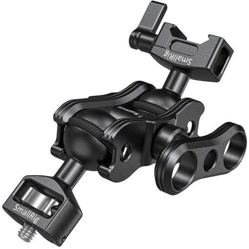 """SmallRig Magic Arm with Dual Ball Heads with 1/4""""-20 Screw and NATO Clamp"""