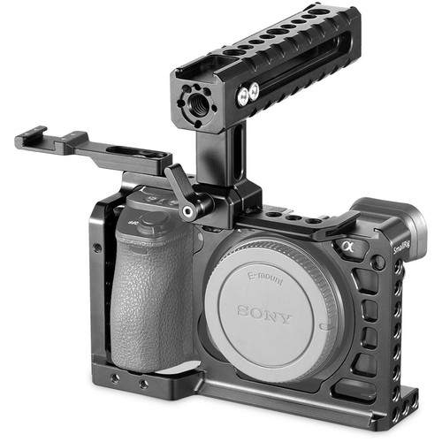 SmallRig 2081 Advanced Cage Kit for Sony a6500 with Top Handle