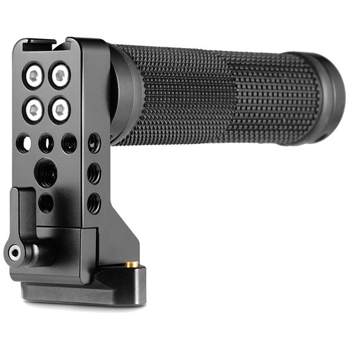 SmallRig Quick Release NATO Handle (Rubber) with Safety Rail