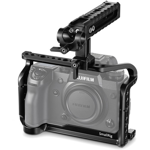 SmallRig Fujifilm X-H1 Cage with NATO Top Handle