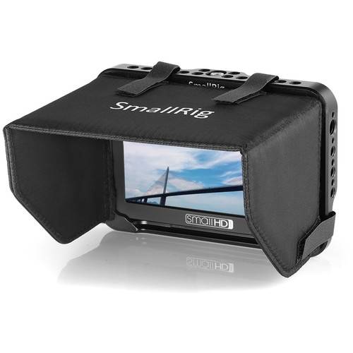 SmallRig Monitor Cage with Sunhood for SmallHD Focus Series 5 Monitor