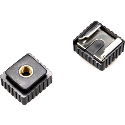 """SmallRig Cold Shoe with 1/4"""" Threaded Hole (2-Pack)"""