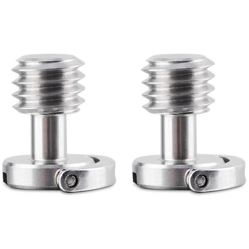 """SmallRig 872 Quick Release Camera Screw with D-Ring (3/8""""-16, Pair)"""