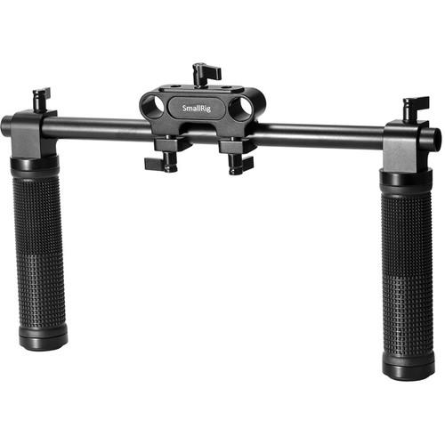 SmallRig Basic Shoulder Rig Handle Kit with 15mm Rod Block