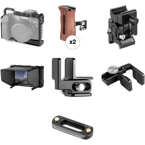SmallRig Comfortable Handheld Rig Kit for Canon EOS R